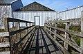 Footbridge at Broughton Brewery (geograph 3935847).jpg