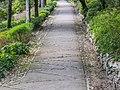 Footpath in Jardins de la Fontaine in Nimes 01.jpg