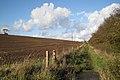 Footpath to Cubbington village north of Glebe Farm - geograph.org.uk - 1567649.jpg