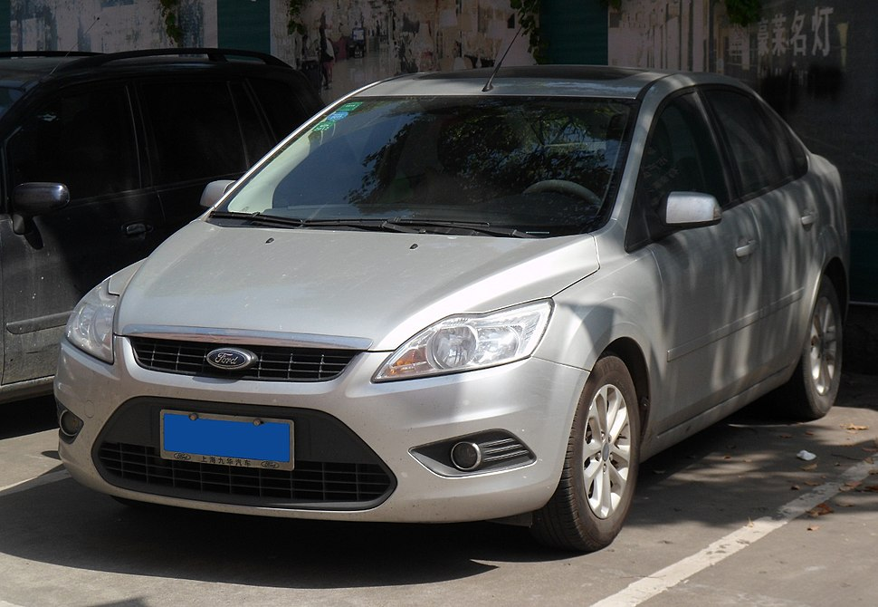 Ford Focus II sedan facelift China 2012-04-28