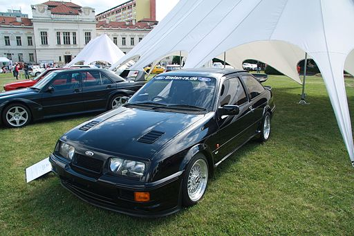Ford Sierra Cosworth RS 500 at Legendy 2014