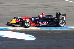 Formula Three - Mika Mäki drives a Dallara F308 Formula Three Car in a Formula 3 Euro Series race at Hockenheimring in 2009