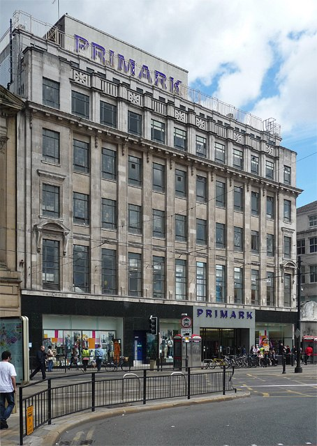 Former Lewis's Building, Mosley Street