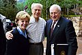 Former President Gerald R. Ford stands with Vice President Dick Cheney and Mrs. Lynne Cheney.jpg
