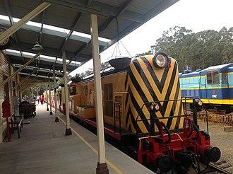 Don River Railway - Former TGR Diesel Locomotive Y6 at Don River Railway