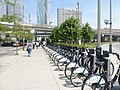 Formerly Bixi, now Bike Share Toronto, foot of Yonge, 2014 06 18 (4).JPG - panoramio.jpg
