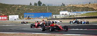 Formula Masters China - Formula Pilota China racing at Ordos International Circuit.