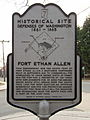 Fort Ethan Allen (Defenses of Washington marker series).jpg