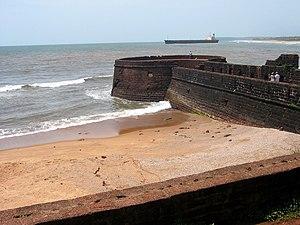 Fort Aguada - Fort Aguada's ramparts overlook Sinquerim Beach and the Arabian Sea.