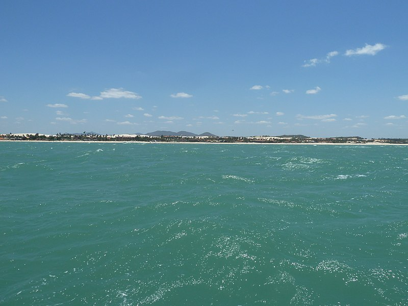 File:Fortaleza, Brazil, Along of the Sea, Cumbuco Beach - panoramio.jpg
