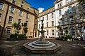 Fountain in quadrangle of Eastman Dental Hospital 01.jpg