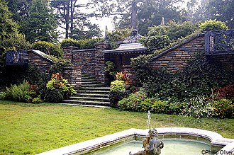 Dumbarton Oaks - The Fountain Terrace at Dumbarton Oaks