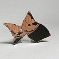 Fragmentary terracotta kylix (drinking cup) MET DP21784.jpg