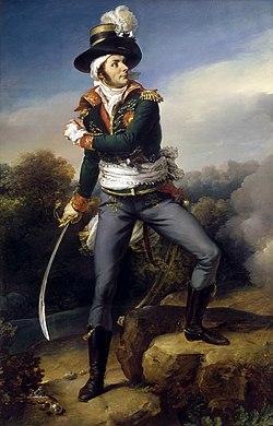 François Athanase Charette de La Contrie par Alfred de Chasteignier, 1819.