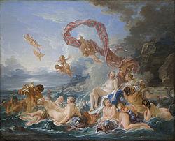 François Boucher: The Triumph of Venus