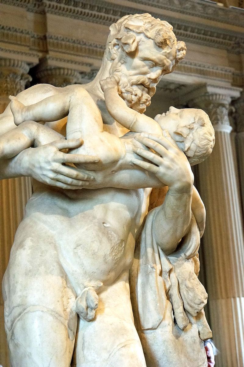 Dionysus und Silen