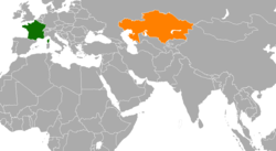 France Kazakhstan Locator.png