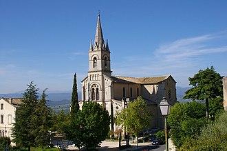 Bonnieux - The new church of Bonnieux