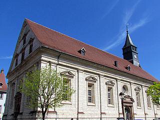 Église Saint-Martin - Montbéliard (Монбельяр), Франш-Конте, Франция - достопримечательности, путеводитель по городу. Что посмотреть в Монбельяре.