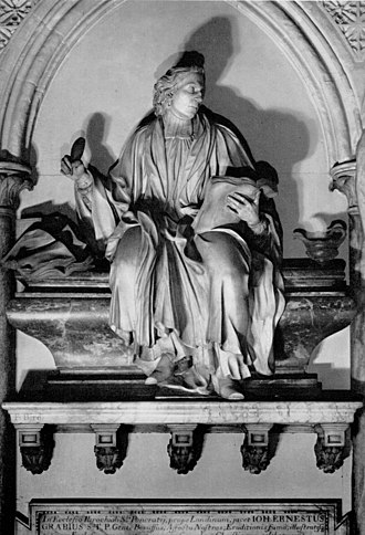 Francis Bird - Image: Francis Bird Monument to Dr Ernest Grabe, d. 1711. Westminster Abbey, London