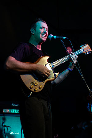 Francis Dunnery - Dunnery performing in 2007
