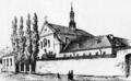 Franciscan monastery in Lviv 1860.png