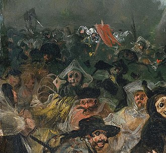 The Burial of the Sardine - Image: Francisco de Goya – El entierro de la sardina (cropped)