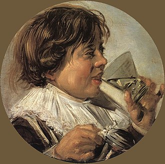 The Smoker - Image: Frans Hals Drinking Boy (Taste) WGA11089