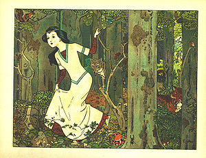 Snow White - 2. Snow White in the forest