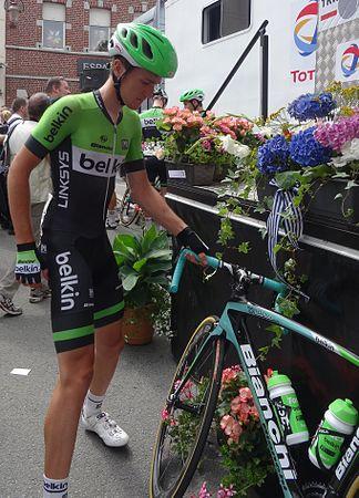 Frasnes-lez-Anvaing - Tour de Wallonie, étape 1, 26 juillet 2014, départ (B155).JPG