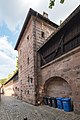 Frauentormauer 7, Mauerturm Blaues V Nürnberg 20180723 001.jpg
