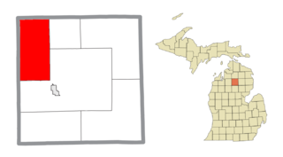 Frederic Township, Michigan Civil township in Michigan, United States