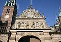 Frederiksborg Slot Hilleroed Denmark inner courtyard wall3.jpg