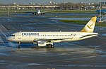 Freebird Airlines A320 (TC-FBH) Gold tail color at Amsterdam Airport Schiphol (EHAM) - 4.jpg