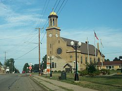 St. Nicholas Catholic Church in Freedom