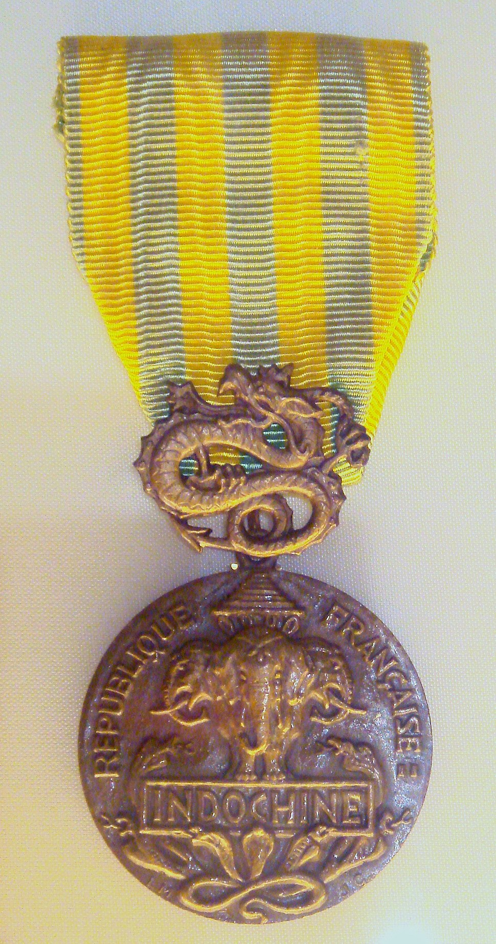 French Indochina medal law of 1 August 1953