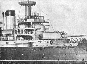 French battleship Suffren conning tower detail.jpg