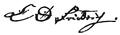 Friedrich C D autograph.png