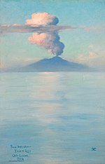 From Studio Window, Isola di Capri, October Evening - Charles Caryl Coleman.jpg