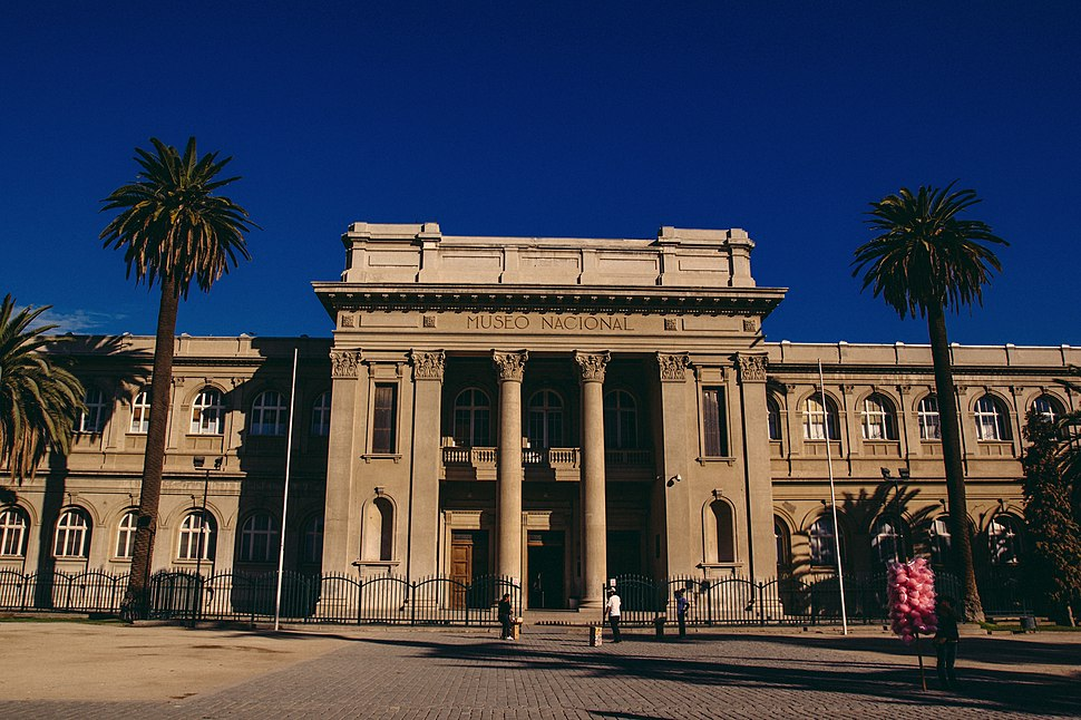 Frontis Museo Nacional de Historia Natural de Chile