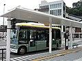 Fujikyu Yamanashi Bus F1571 at Uenohara Station 02.jpg