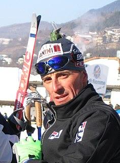Fulvio Valbusa Italian cross-country skier