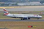 G-LCYS Embraer ERJ-190SR British Airways BHX 14-07-18 (42703558455).jpg