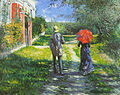 G. Caillebotte  - 路径montant.jpg