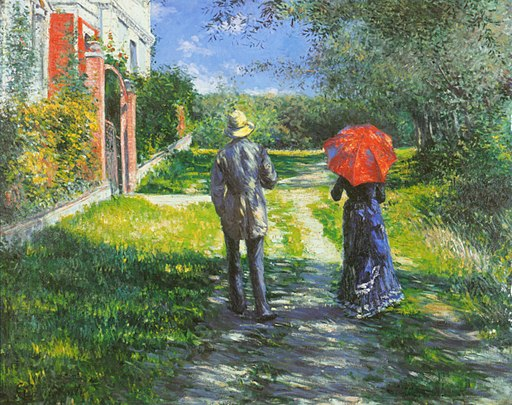 G. Caillebotte - Chemin montant