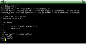 compilateur gcc