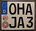 GERMANY, Osterode Am Herz, EEC motorcycle plate, large size - Flickr - woody1778a.jpg