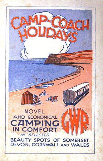 Camping coach - A 1934 GWR brochure