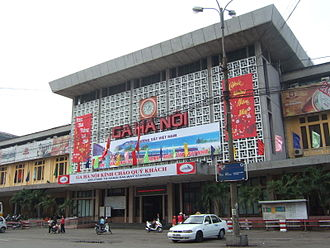 North–South railway (Vietnam) - Hanoi Railway Station