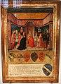 Gabella 33, francesco di giorgio (attr.), pio II impone il cappello cardinalizio al nipote francesco piccolomini todeschini, 1460, 01.jpg